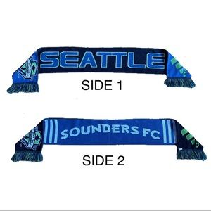 ADIDAS | Reversible Sounders Scarf